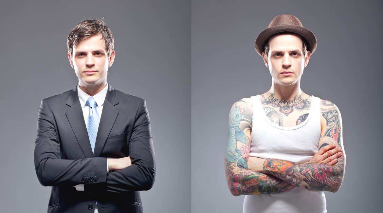 Tattos im Beruf
