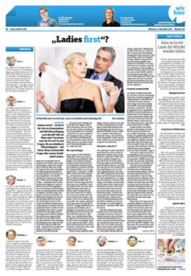 Artikel Ladies First Aachener Nachrichten